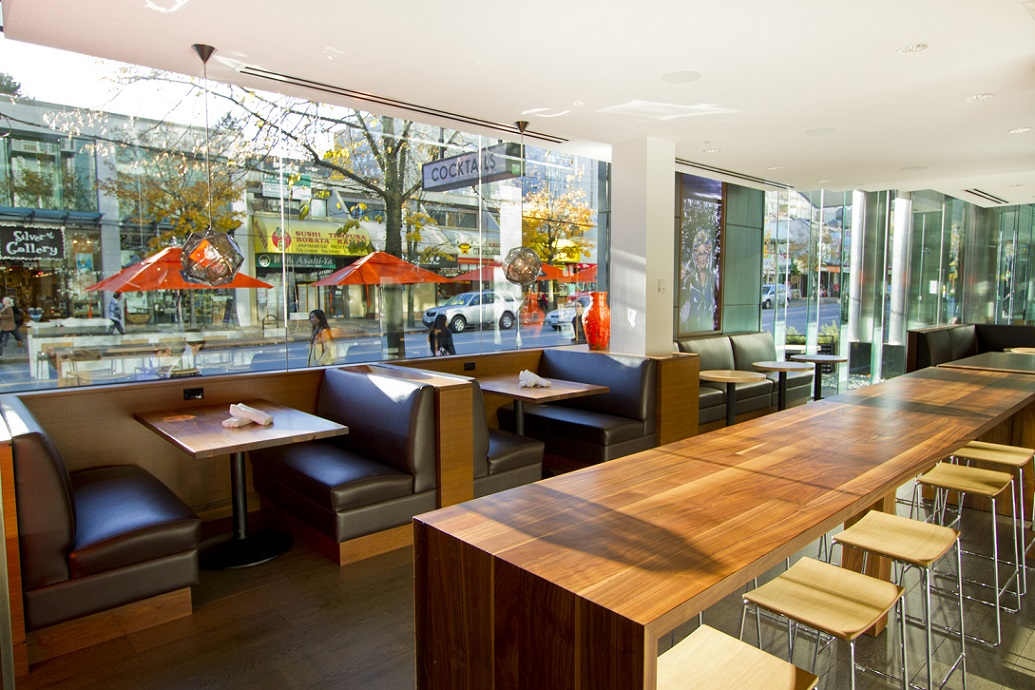 ABODE restaurant vancouver Robson Street